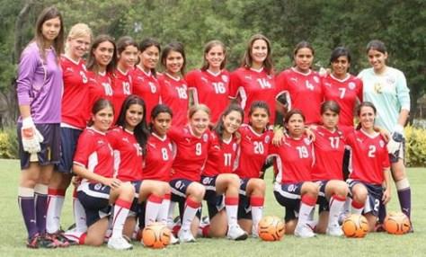 Chile Futbol Team
