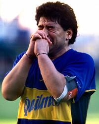 Don't cry for me Maradona
