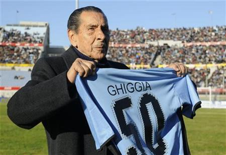 Ghiggia predicted the 5-0 scoreline