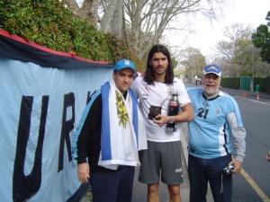 Andres, El Loco y Luis