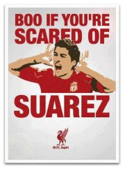 Boo if you're scared of Suarez