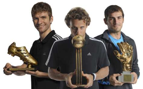 Diego Forlan Best Player at the 2010 World Cup