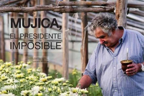 Pepe Mujica tomando mate'